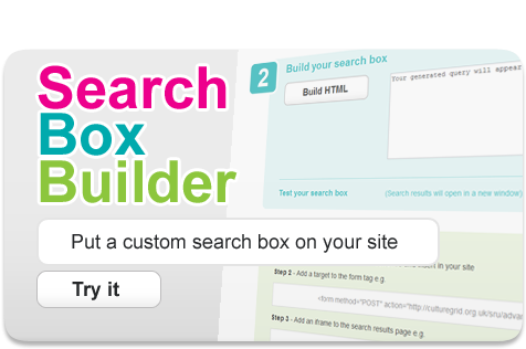 search box builder